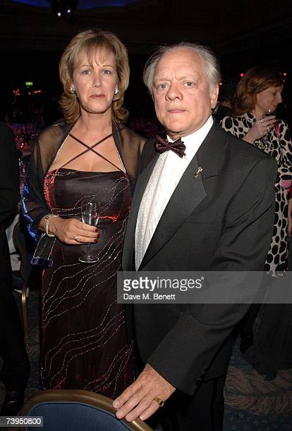 Gill Hinchcliffe and David Jason attend the BAFTA Craft Awards where the industry honour the the people behind the cameras at the Dorchester Hotel...