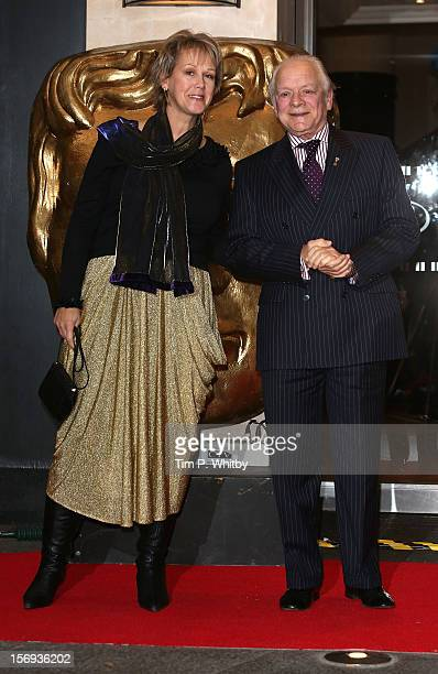 Gill Hinchcliffe and David Jason attend the British Academy Children's Awards at London Hilton on November 25 2012 in London England