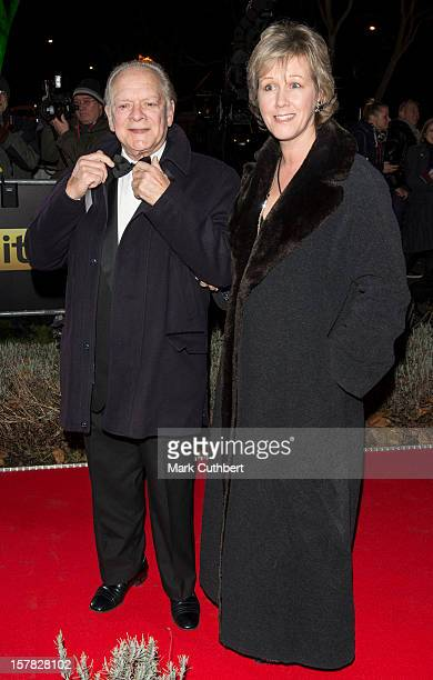 Gill Hinchcliffe and David Jason attend the Sun Military Awards at Imperial War Museum on December 6 2012 in London England