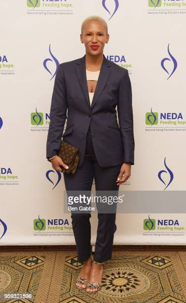 Gilleon Smith attends the National Eating Disorders Association Annual Gala 2018 at The Pierre Hotel on May 16 2018 in New York City