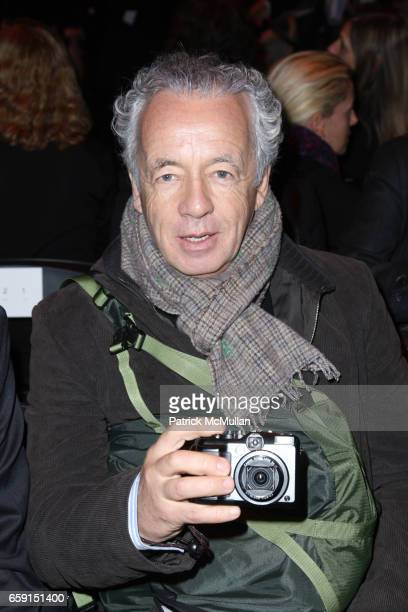 Gilles Bensimon attends MARC by MARC JACOBS FALL 2009 COLLECTION at NY State Armory on February 17 2009 in New York City