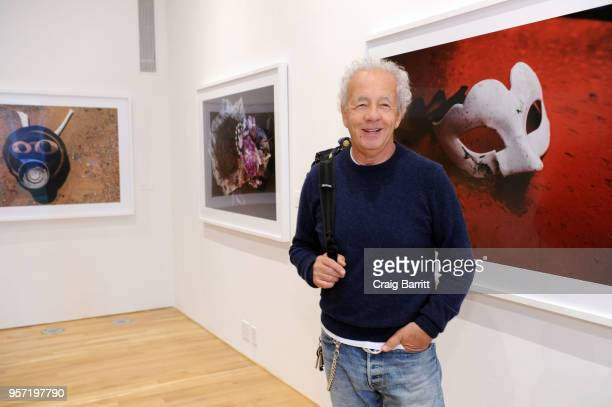 Gilles Bensimon attends the Gilles Bensimon opening reception of 'GrisGris' Exhibition presented by Gobbi Fine Art on May 10 2018 in New York City