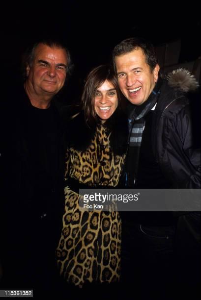 Gilles Bensimon Carine Roitfeld and Mario Testino