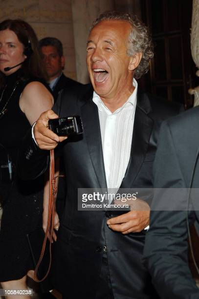 Gilles Bensimon during 2005 CFDA Fashion Awards Inside Arrivals at New York Public Library in New York City New York United States