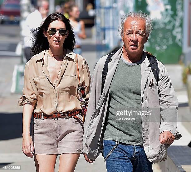Gilles Bensimonon is seen in Soho August 14 2015 in New York City