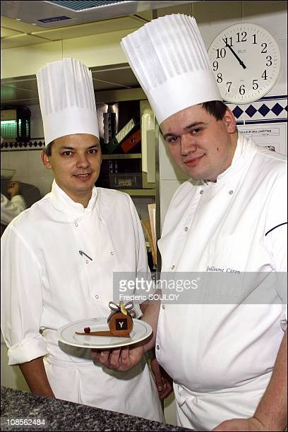 Gilles Charlery and Guillaume Caron in Paris France on January 16 2007