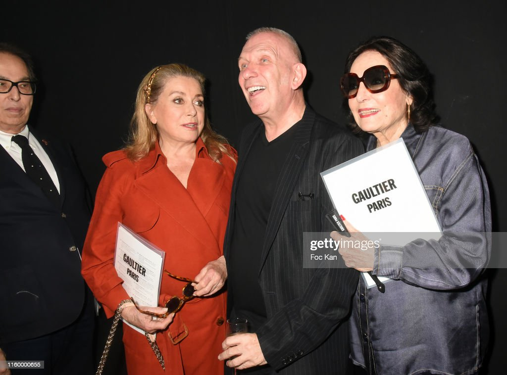 Jean Paul Gaultier : Front Row - Paris Fashion Week - Haute Couture Fall/Winter 2019/2020 : Photo d'actualité