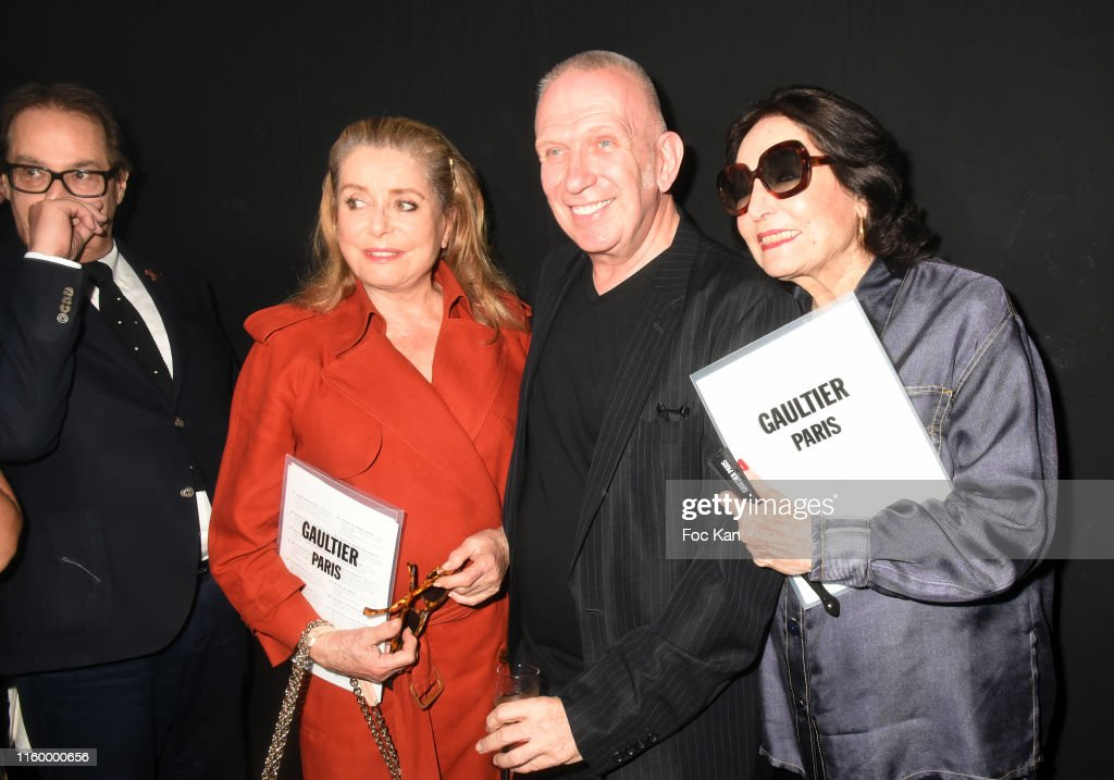 Jean Paul Gaultier : Front Row - Paris Fashion Week - Haute Couture Fall/Winter 2019/2020 : Photo d'actualité