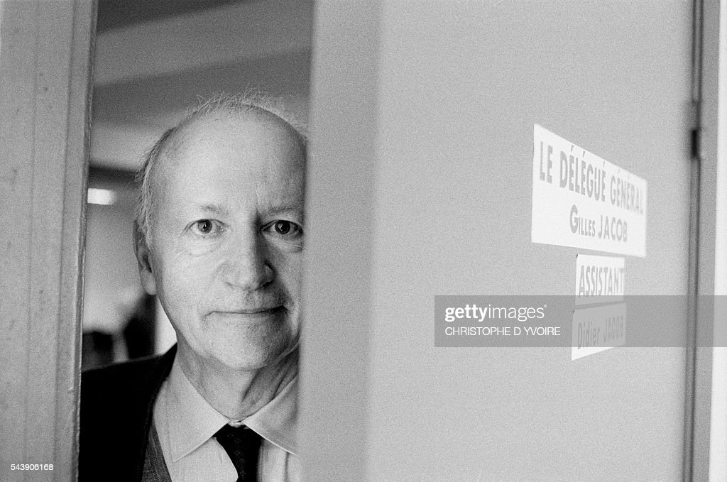 Gilles Jacob, managing director of the Cannes Film Festival.