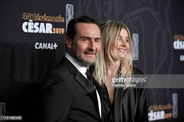 Gilles Lellouche and Alizee Guinochet attend the Cesar Film Awards 2019 at Salle Pleyel on February 22 2019 in Paris France