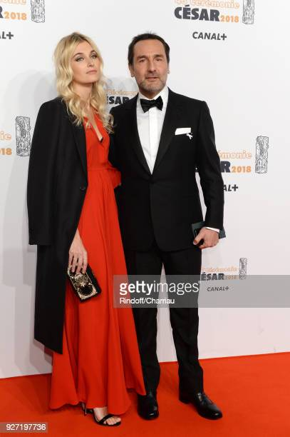 Gilles Lelouche and Alizée Guinochet arrive at the Cesar Film Awards 2018 at Salle Pleyel on March 2 2018 in Paris France