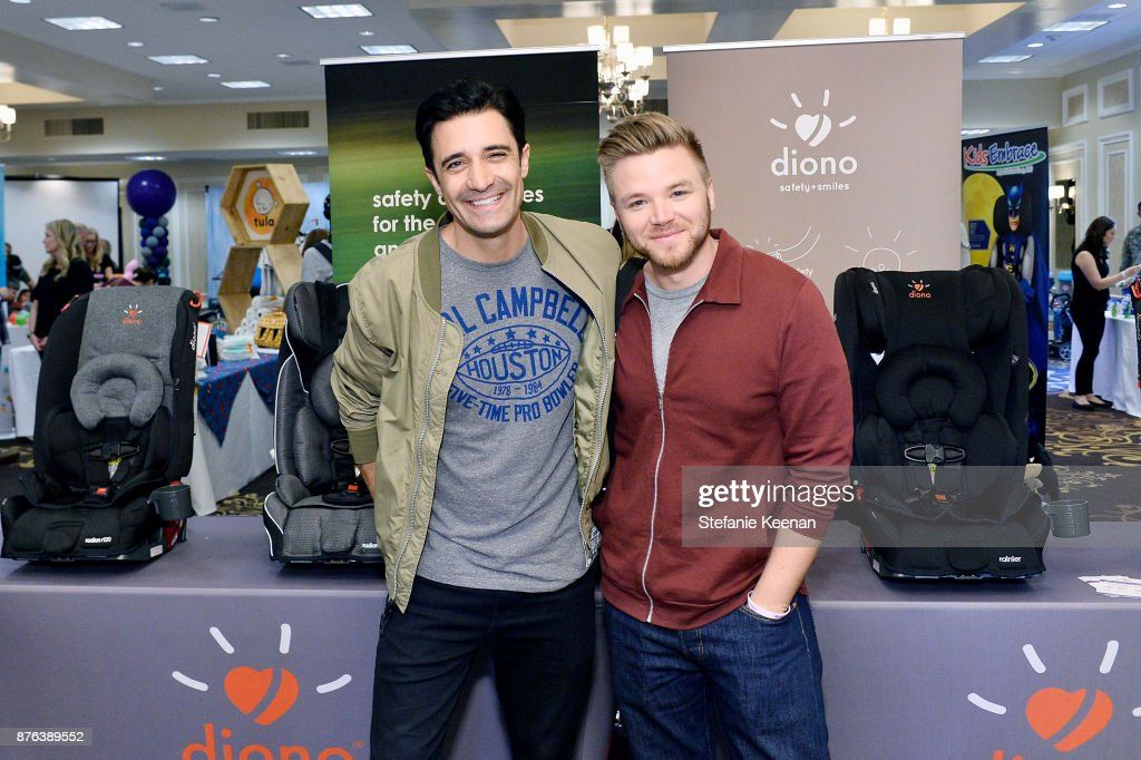 Gilles Marini and Brett Davern attend Diono Presents Inaugural A Day of Thanks and Giving Event at The Beverly Hilton Hotel on November 19, 2017 in Beverly Hills, California.