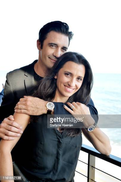 Gilles Marini and Carole Marini attend Breguet Marine Collection Launch at Little Beach House Malibu on July 11 2019 in Malibu California