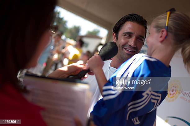 Gilles Marini attends Chelsea FC and InterMilan soccer match benefitting LAFC Chelsea and Africa Outreach Project at The Rose Bowl on July 21 2009 in...