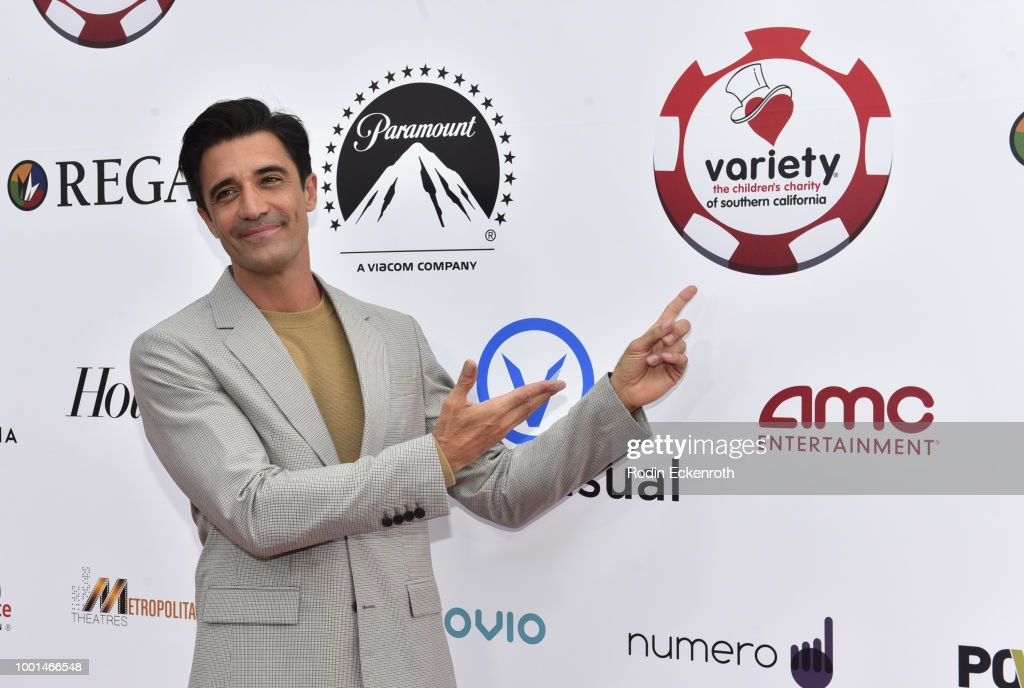 Gilles Marini attends the 8th Annual Variety Children's Charity of SoCal Texas Hold 'Em Poker Tournament at Paramount Studios on July 18, 2018 in Los Angeles, California.