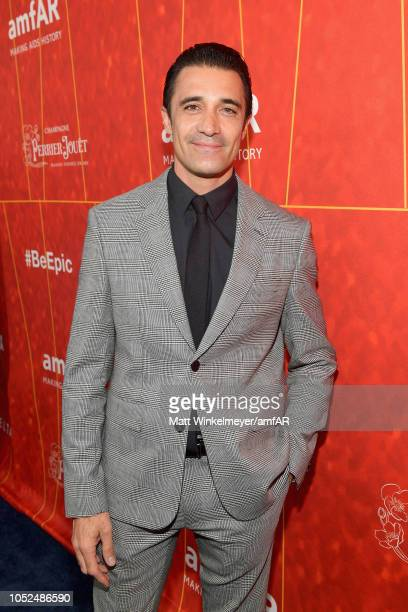 Gilles Marini attends the amfAR Gala Los Angeles 2018 at Wallis Annenberg Center for the Performing Arts on October 18 2018 in Beverly Hills...