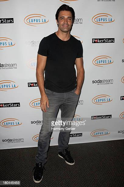 Gilles Marini attends the Get Lucky For Lupus LA event at Peterson Automotive Museum on September 12 2013 in Los Angeles California