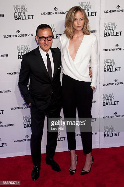 Gilles Mendel and Kylie Case attend The New York City Ballet 2014 Spring Gala at the David H. Koch Theater in New York City. © LAN