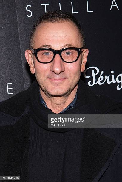 Gilles Mendel attends The Cinema Society with Montblanc and Dom Perignon host a screening of Sony Pictures Classics' Still Alice at Landmark's...