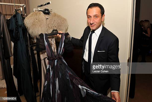 Gilles Mendel attends the Kara Ross NY Oscar Collection Cocktail Party at the Sunset Tower Hotel on February 21 2008 in Los Angeles California
