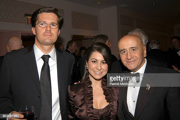 Gilles Rousseau Jennifer Pellegrino and Richard Grasso attend CRT's Cancer Survivors Hall of Fame Dinner Dance at The Hilton NYC on November 2 2006