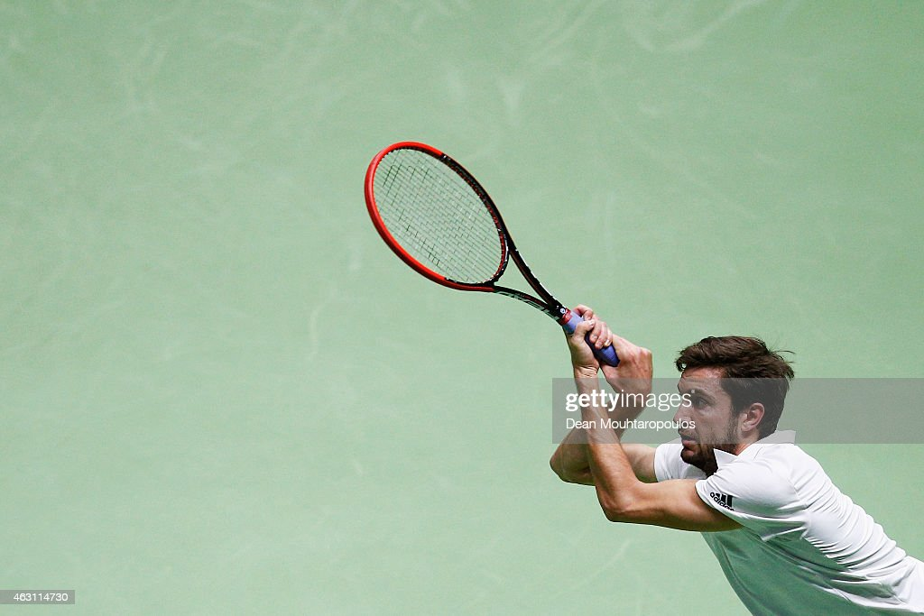ABN AMRO World Tennis Tournament - Day Two : News Photo