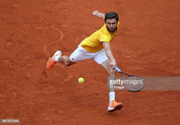 Gilles Simon of France in action during the International German Open at Rothenbaum on July 27 2017 in Hamburg Germany