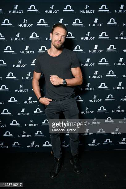 Gilles Souteyrand attends the launch of Hublot x Champion Spirit on June 27 2019 in Paris France