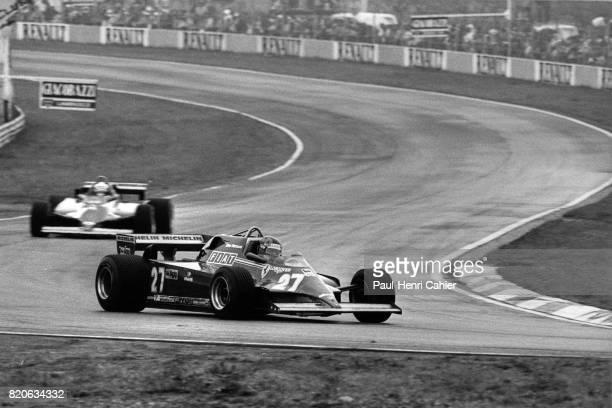 Gilles Villeneuve, Didier Pironi, Ferrari 126CK, Grand Prix of San Marino, Imola, 03 May 1981.