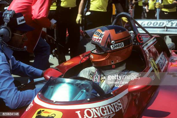 Gilles Villeneuve Ferrari 126C2 Grand Prix of Belgium Zolder 08 May 1982