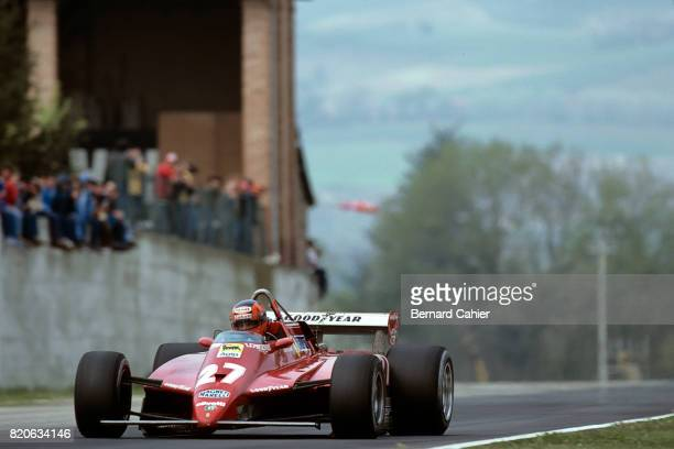 Gilles Villeneuve Ferrari 126C2 Grand Prix of San Marino Imola 25 April 1982