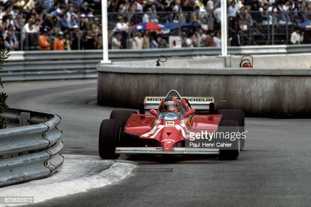 Gilles Villeneuve Ferrari 126CK Grand Prix of Monaco Monaco 31 May 1981