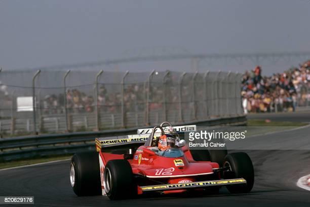 Gilles Villeneuve Ferrari 312T4 Grand Prix of Canada Ile Notre Dame Circuit 30 September 1979