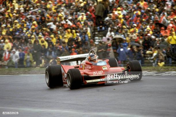 Gilles Villeneuve Ferrari 312T4 Grand Prix of the United States Watkins Glen 07 October 1979