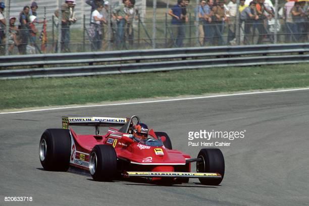 Gilles Villeneuve, Ferrari 312T5, Grand Prix of Italy , Imola, 14 September 1980.
