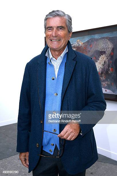 Gilles Weil attends the 'FIAC 2015 International Contemporary Art Fair' at Le Grand Palais on October 21 2015 in Paris France