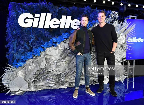 Gillette guest host Justin Hartley and men's style influencer Adam Gallagher share the top grooming trends of 2018 with a declaration that 'one size'...