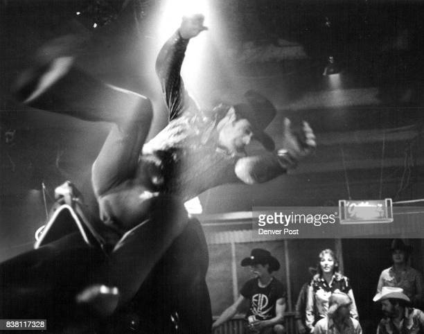 Gilley's Travolta Rode Here Urban Cowboy Gets Thrown From El Toro The Mechanical Bull In Gilley's Club Near Houston 'Risking your manhood in order to...