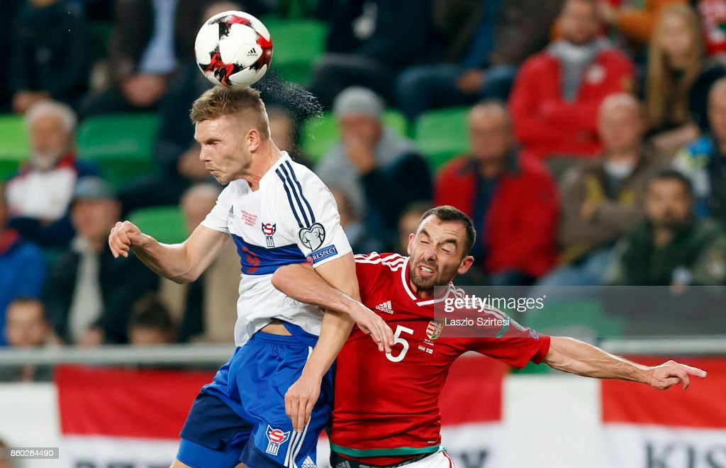 Hungary v Faroe Islands - FIFA 2018 World Cup Qualifier : News Photo