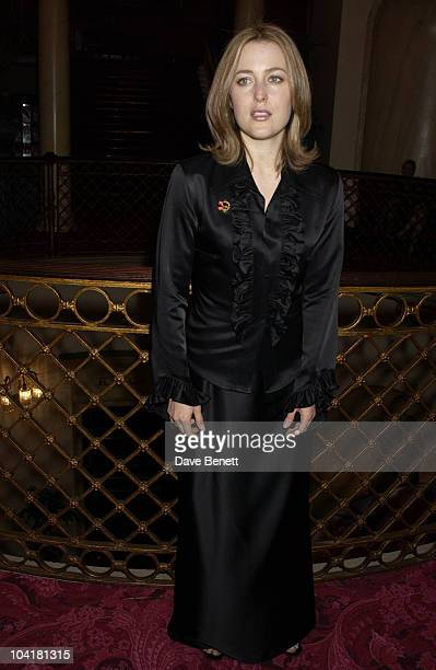Gillian Anderson An Enchanted Evening Gala Concert To Help Celebrate The 20th Anniversary Of The Neurofibromatosis Association And The Centenary Of...