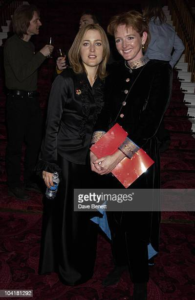 Gillian Anderson And Serena Gordon An Enchanted Evening Gala Concert To Help Celebrate The 20th Anniversary Of The Neurofibromatosis Association And...