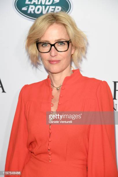 Gillian Anderson attend The BAFTA Los Angeles Tea Party at Four Seasons Hotel Los Angeles at Beverly Hills on January 04, 2020 in Los Angeles,...