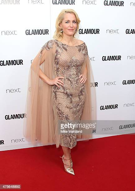 Gillian Anderson attend the Glamour Women Of The Year Awards at Berkeley Square Gardens on June 2 2015 in London England