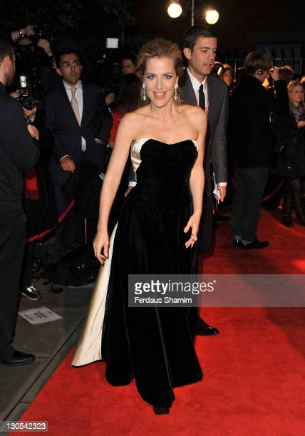 Gillian Anderson attends the 2011 BFI London Film Festival Awards at LSO St Lukes on October 26 2011 in London England