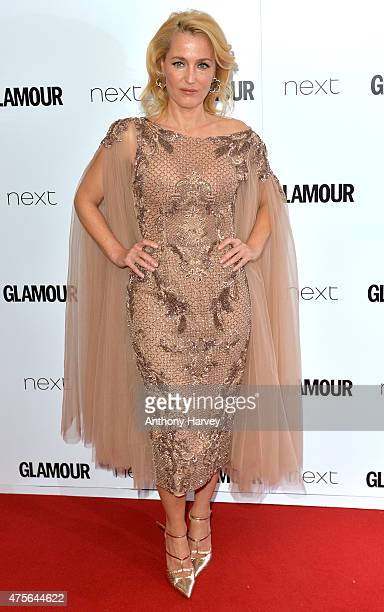 Gillian Anderson attends the Glamour Women Of The Year Awards at Berkeley Square Gardens on June 2 2015 in London England