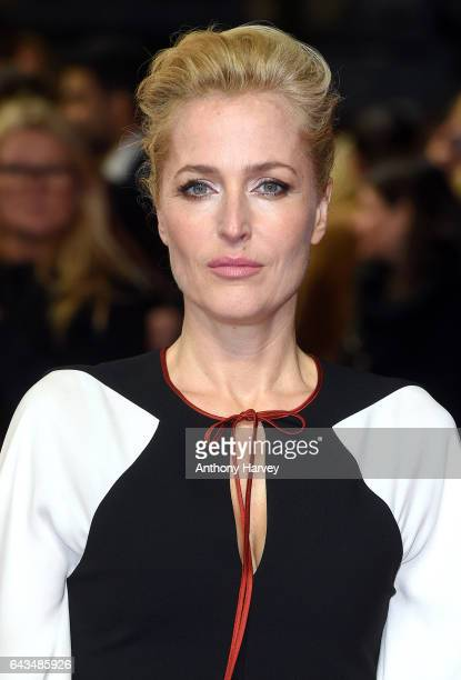 Gillian Anderson attends the 'Viceroy's House' UK Premiere on February 21 2017 in London United Kingdom