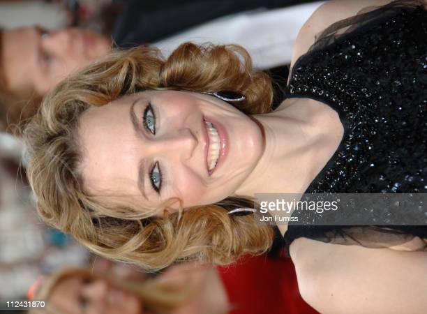 Gillian Anderson during The 2006 British Academy Television Awards Arrivals at Grosvenor House in London Great Britain