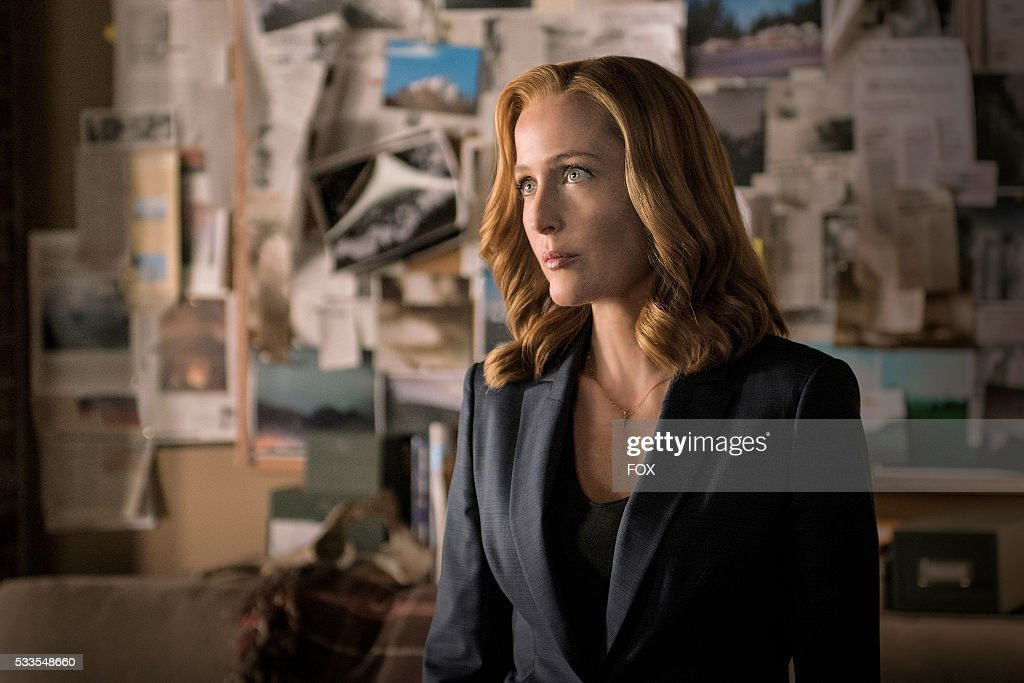 Gillian Anderson in the My Struggle II season finale episode of THE X-FILES airing Monday, Feb. 22 (8:00-9:01 PM ET/PT) on FOX.