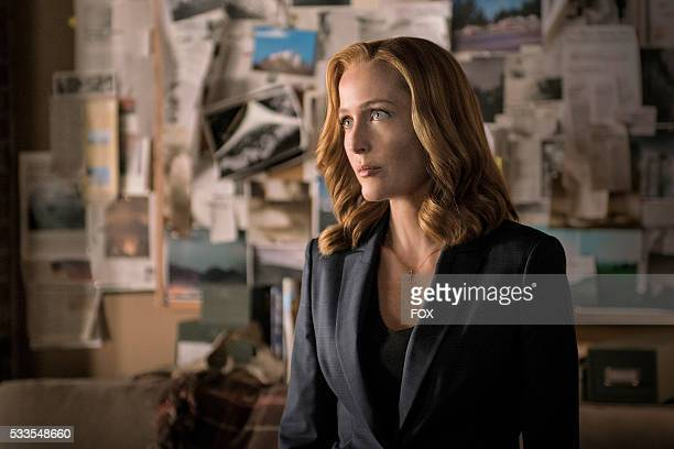Gillian Anderson in the My Struggle II season finale episode of THE XFILES airing Monday Feb 22 on FOX