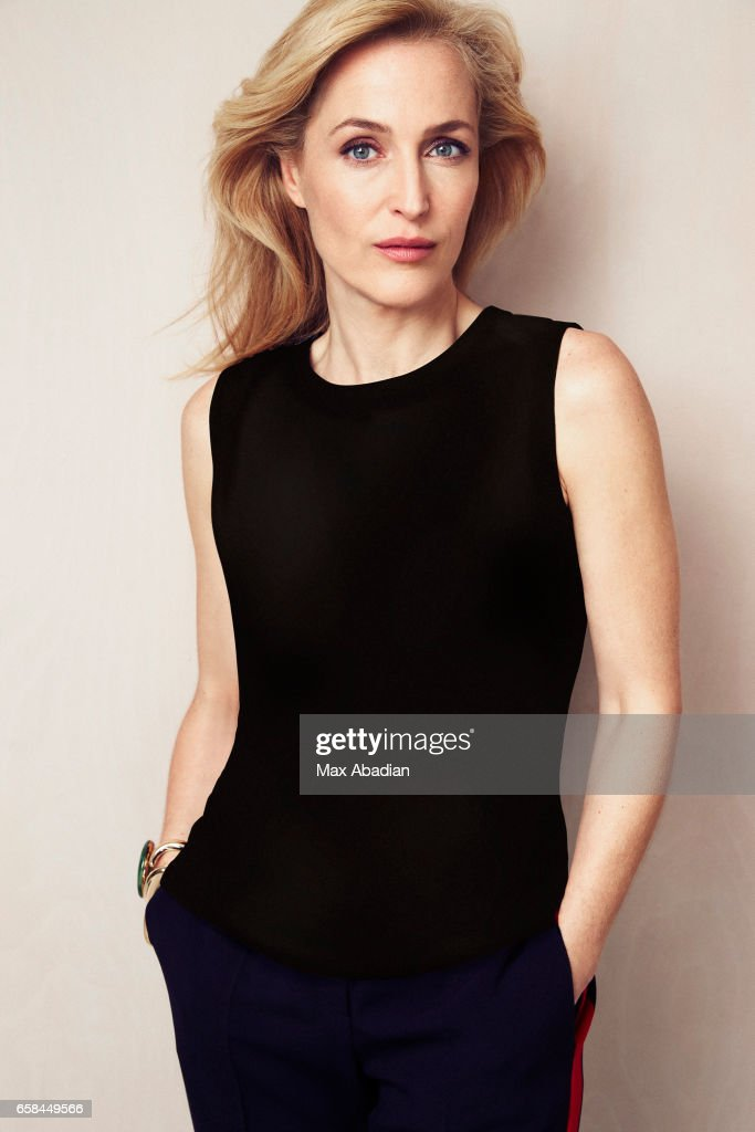 Gillian Anderson, Red Magazine, April 1, 2017